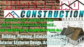 HYDERABAD Construction Services | Building , Planning,  Interior and Exterior Design | Architect  |