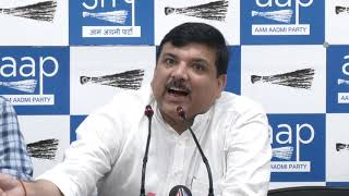 राजनीतिक द्वेष में भाजपा दिल्ली की जनता के जीवन से खिलवाड़ कर रही है : संजय सिंह