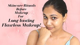 Skincare Rituals to do Before Makeup to get Flawless, Long lasting Makeup Using Ubtan | Nidhi Ktiyar