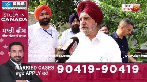 Exclusive: Minister Tripat Rajinder Bajwa ने बताया क्यों Ground Zero पर पहुंची Punjab Cabinet