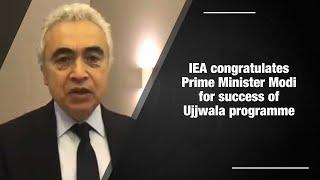 IEA congratulates PM Modi for Ujjwala success