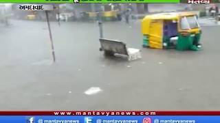 Ahmedabad: 4 ઇંચ વરસાદે શહેરને ઘમરોળ્યું