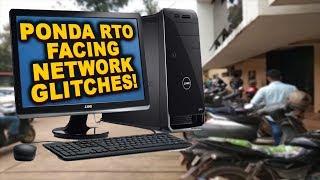 Ponda RTO Faces Network Glitches, Public Suffer