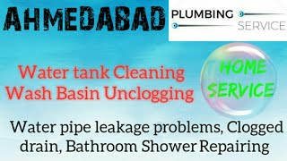 AHMEDABAD   Plumbing Services  Plumber at your home   Bathroom Shower Repairing near me in Building