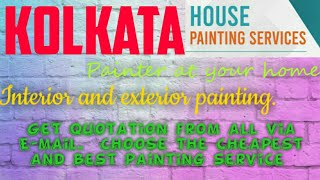 KOLKATA   HOUSE PAINTING SERVICES ~ Painter at your home ~near me ~ Tips ~INTERIOR & EXTERIOR 1280x7