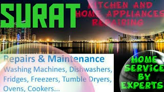 SURAT   KITCHEN AND HOME APPLIANCES REPAIRING SERVICES ~Service at your home ~Centers near me 1280x7