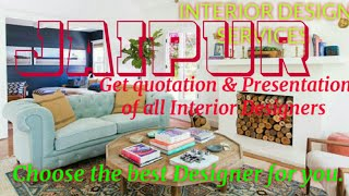 JAIPUR   INTERIOR DESIGN SERVICES ~ QUOTATION AND PRESENTATION~ Ideas ~ Living Room ~ Tips ~Bedroom