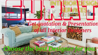 SURAT  INTERIOR DESIGN SERVICES ~ QUOTATION AND PRESENTATION~ Ideas ~ Living Room ~ Tips ~Bedroom 12