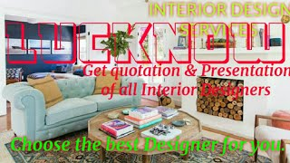 LUCKNOW    INTERIOR DESIGN SERVICES ~ QUOTATION AND PRESENTATION~ Ideas ~ Living Room ~ Tips ~Bedroo