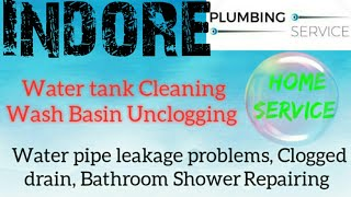 INDORE   Plumbing Services ~Plumber at your home~   Bathroom Shower Repairing ~near me ~in Building