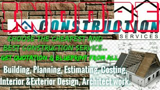 INDORE    Construction Services ~Building , Planning,  Interior and Exterior Design ~Architect  1280