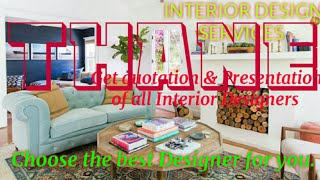 THANE    INTERIOR DESIGN SERVICES ~ QUOTATION AND PRESENTATION~ Ideas ~ Living Room ~ Tips ~Bedroom
