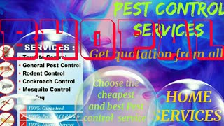 BHOPAL    Pest Control Services ~ Technician ~Service at your home ~ Bed Bugs ~ near me 1280x720 3 7