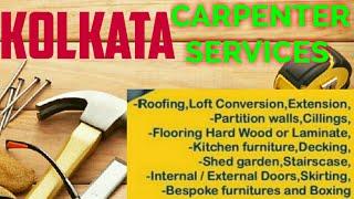 KOLKATA   Carpenter Services ~ Carpenter at your home ~ Furniture Work ~near me ~work ~Carpentery