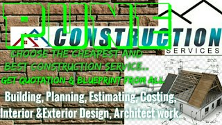 PUNE   Construction Services ~Building , Planning, Interior and Exterior Design ~Architect 1280x72