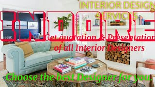 INDORE   INTERIOR DESIGN SERVICES ~ QUOTATION AND PRESENTATION~ Ideas ~ Living Room ~ Tips ~Bedroom