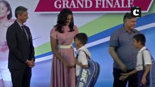 PV Sindhu attends grand finale of Junior Badminton Championship