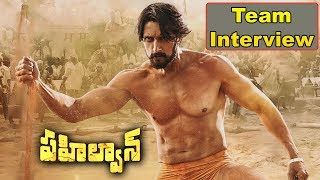 Pehlwaan Team Exclusive Interview | Kiccha Sudeep | Akansha Singh | Bhavani HD Movies