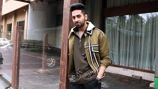 Ayushmann Khurrana Spotted Promoting Movie Dream Girl At JW Marriott JUHU