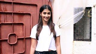 Beautiful Pooja Hegde Spotted At Sunny Super Sound JUHU