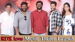 RDX love Movie Trailer Launch | Paayal Rajput, Tejus Kancherla | C Kalyan | RDXLoveTrailer
