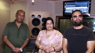 The Song Recording Of Apeksha Music's New Navratri Song Jai Maa Ambe Jai Jagdambe | Anuradha Paudwal