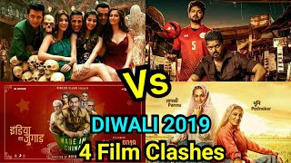 Housefull 4 Vs Bigil Vs Saand Ki Aankh Vs Made In China Clash On Diwali 2019