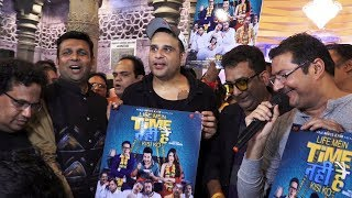Krushna Abhishek Launch The Poster Of Their Film Life Main Time Nahi Hai Kisi Ko At Andheri Cha Raja