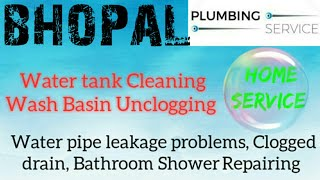 BHOPAL   Plumbing Services ~Plumber at your home~   Bathroom Shower Repairing ~near me ~in Building