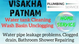 VISAKHAPATNAM     Plumbing Services ~Plumber at your home~   Bathroom Shower Repairing ~near me ~in