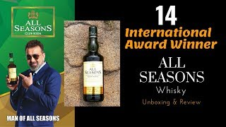All Seasons Whisky Unboxing & Review in Hindi | Best Indian Whisky | Connoisseurs Collection