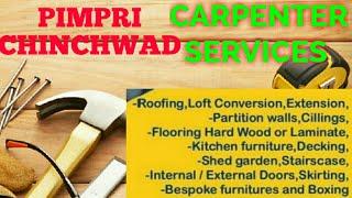 PIMPRI  CHINCHWAD   Carpenter Services ~ Carpenter at your home ~ Furniture Work ~near me ~work ~C