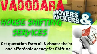 VADODARA    Packers & Movers ~House Shifting Services ~ Safe and Secure Service ~near me 1280x720 3