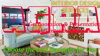 AGRA      INTERIOR DESIGN SERVICES ~ QUOTATION AND PRESENTATION~ Ideas ~ Living Room ~ Tips ~Bedroom
