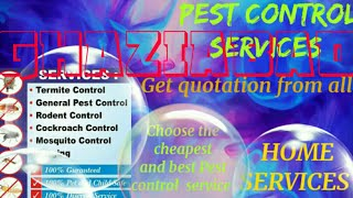 GHAZIABAD    Pest Control Services ~ Technician ~Service at your home ~ Bed Bugs ~ near me 1280x720