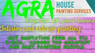 AGRA    HOUSE PAINTING SERVICES ~ Painter at your home ~near me ~ Tips ~INTERIOR & EXTERIOR 1280x720