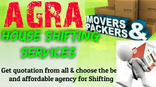 AGRA    Packers & Movers ~House Shifting Services ~ Safe and Secure Service ~near me 1280x720 3 78M