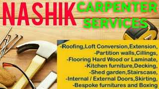 NASHIK    Carpenter Services  ~ Carpenter at your home ~ Furniture Work  ~near me ~work ~Carpentery