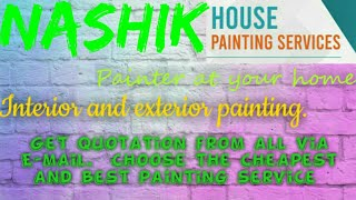 NASHIK    HOUSE PAINTING SERVICES ~ Painter at your home ~near me ~ Tips ~INTERIOR & EXTERIOR 1280x7