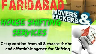 FARIDABAD    Packers & Movers ~House Shifting Services ~ Safe and Secure Service ~near me 1280x720