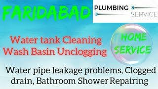 FARIDABAD   Plumbing Services ~Plumber at your home~ Bathroom Shower Repairing ~near me ~in Buildi