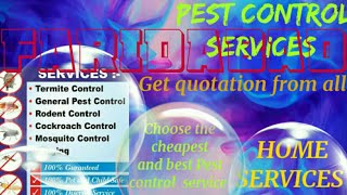 FARIDABAD    Pest Control Services ~ Technician ~Service at your home ~ Bed Bugs ~ near me 1280x720