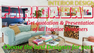 FARIDABAD     INTERIOR DESIGN SERVICES ~ QUOTATION AND PRESENTATION~ Ideas ~ Living Room ~ Tips ~Bed