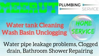 MEERUT    Plumbing Services ~Plumber at your home~   Bathroom Shower Repairing ~near me ~in Building