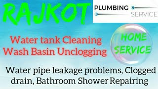 RAJKOT  Plumbing Services ~Plumber at your home~   Bathroom Shower Repairing ~near me ~in Building 1