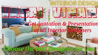 VASAI  VIRAR   INTERIOR DESIGN SERVICES ~ QUOTATION AND PRESENTATION~ Ideas ~ Living Room ~ Tips ~Be
