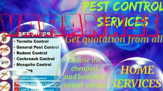 VARANASI   Pest Control Services ~ Technician ~Service at your home ~ Bed Bugs ~ near me 1280x720 3