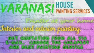 VARANASI    HOUSE PAINTING SERVICES ~ Painter at your home ~near me ~ Tips ~INTERIOR & EXTERIOR 1280