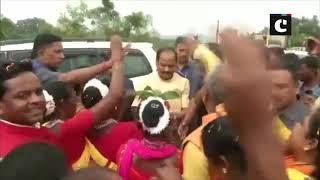 Raghubar Das attends 'Ghar Ghar Raghubar' rally in Jharkhand's Khijri