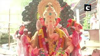 Ganesh Chaturthi: People take out procession for immersion of Ganpati idols